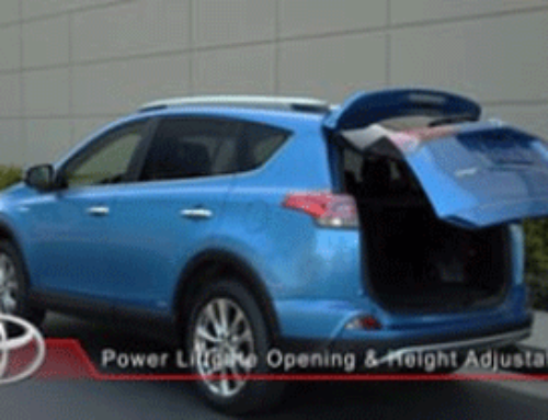 Toyota Cross Carline – Power Liftgate Opening and Height Adjustability